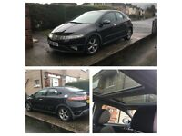 Honda Civic 1.8 ES + Low Mileage + Mot + Big Pan Glass Roof+ Smart looks