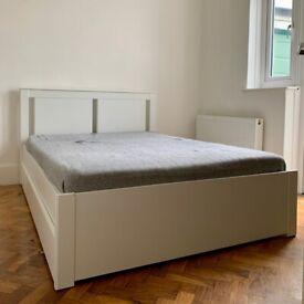 Ikea Bedframe Drawers Standard Double Bed In Tower Bridge London Gumtree