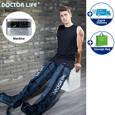 [DOCTOR LIFE] LX7 max Sequential Air Compression Leg Massager. 110V (L to XXL)