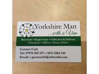Man and van York all uk Europe Spain settee student moves sofa flats houses
