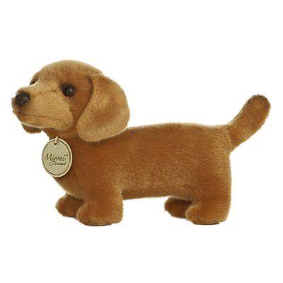 Miyoni Realistic 8 inch Datchund Dachshund Dashon Datsund Puppy Dog AKC AU10809
