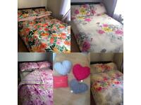 Bedding and cushions