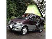 HI SPEC MAZDA BONGO 2.5 TD 4WD 8 SEATER/CAMPER /DAY VAN/LOW MILES/LOW LEVEL COOLANT ALARM /VW T4 T5