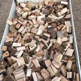 Cut dried seasoned hardwood for sale ideal for log burners/fire pits and chimenea
