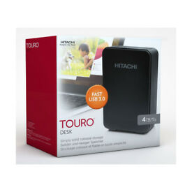 Hitachi 4TB External Hard Drive