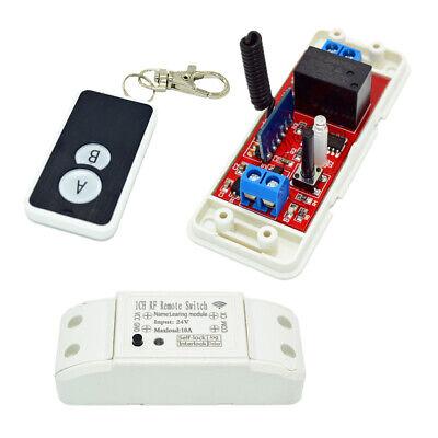 Dc 24v 433mhz Wireless Remote Control Relay Switch With 2-key Remote Control