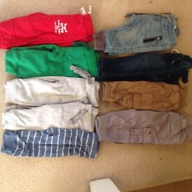 Baby boy clothes all 3-6 months