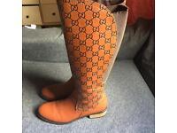 Talk GUCCI Boots Size UK 6/ EU 39