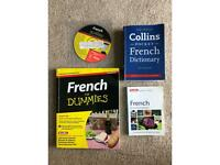 Learn French books (collection of books)