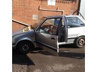 1989 Nissan micra k11 1.2 auto 3 door cheap need gone