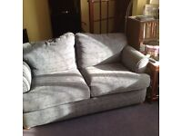 Blue SOfa Double Pull out Bed