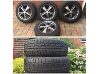 AUDI Q5 WHEELS & TYRES NOKIAN WINTER PLUS TWO BRAND NEW NOKIAN WINTER TYRES (MUST SEE)