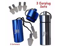 Ear Plugs - Best High Fidelity Noise Cancelling Silicone Protection Earplugs