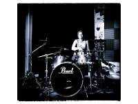 Pearl Masters Maple kit silver sparkle