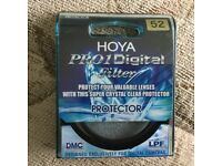 Hoya Pro1 Digital Protector Filter 52mm