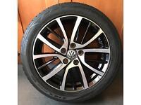 """Volkswagen Golf 17"""" Blade Alloy wheels"""