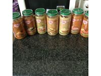 Cow and Gate 250g (10+) Baby Food Jar Bundle (7 Items)