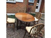 Dining tables with 4 chairs-Free delivery