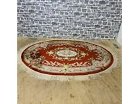 Oval Rug in Great Condition