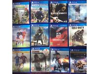 PS4 Games for Sale or SWAP