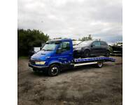 VEHICLE CAR BIKE RECOVERY TRANSPORT COURIER