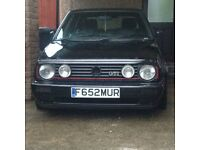 1988 vw golf 1.8 gti big bumper