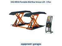 Brand New Car Scissor Lift-Mid Rise Car Lift-1 Metre Lift-Portable Car Lift-3Ton E4G MR30