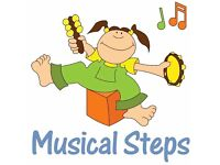 Musical Steps Classes for babies and toddlers