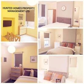 Modern newly refurbished rooms to rent Nuneaton