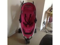 Quinny Zap stroller with travel bag