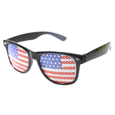 Halloween divertente costume America bandiera occhiali giocattolo prop festa
