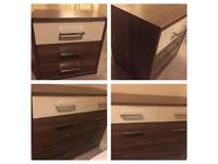 6 drawer chest drawer + 3 drawer small side drawer