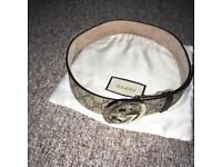 Mens authentic gucci belt