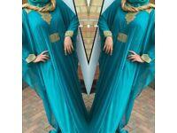 EID SALE - NEW Dubai Arabic Kaftan Abaya Evening/Wedding Butterfly Dress - Various Colours