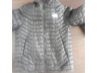 north face black jacket. size large.