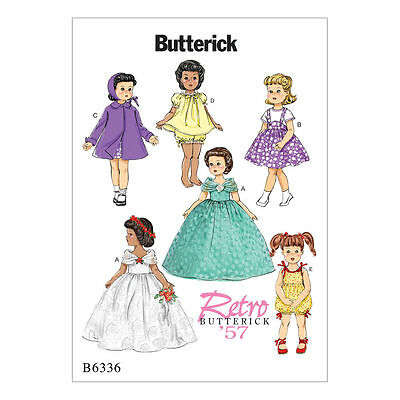 Butterick Pattern 6336 RETRO OUTFITS FOR 18