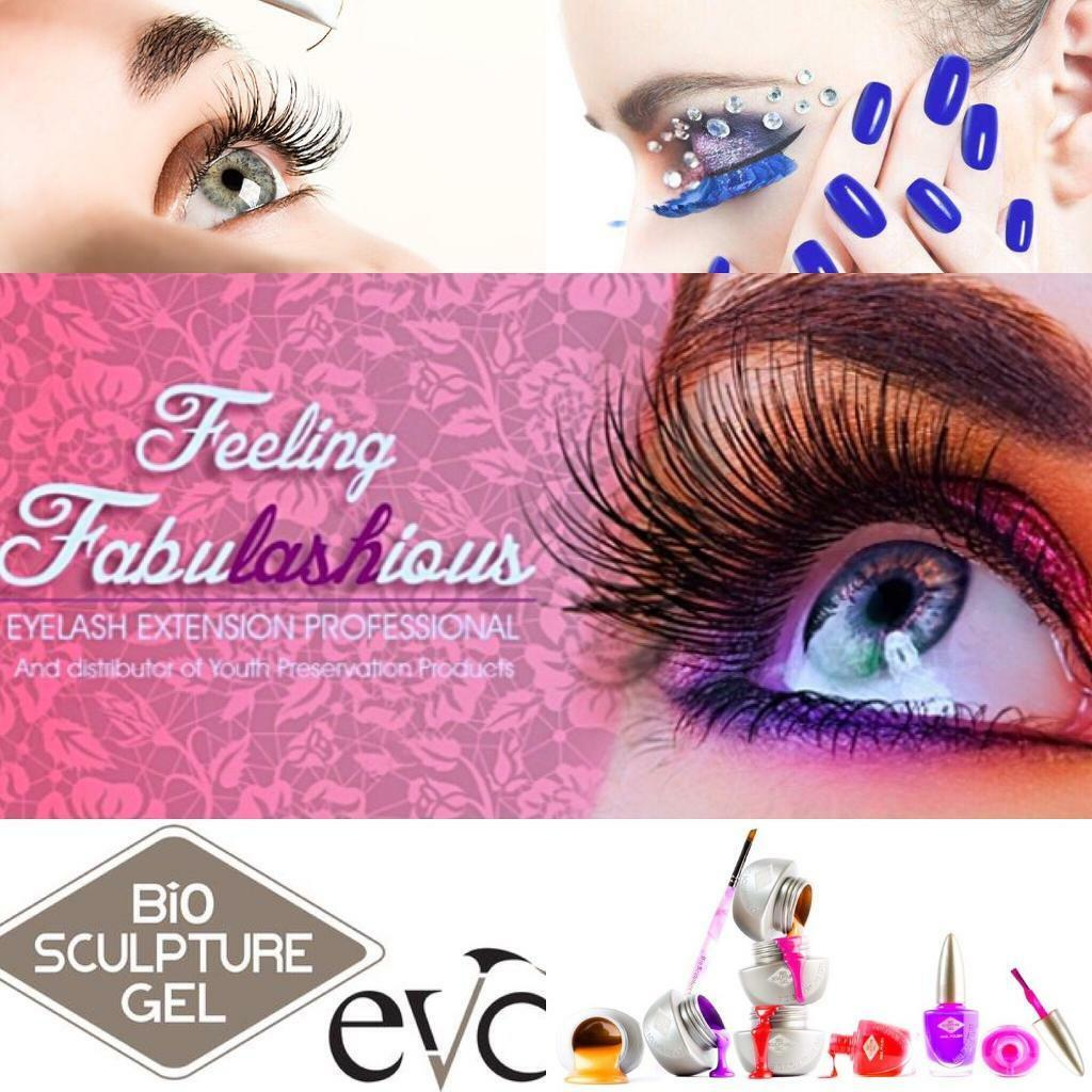 Qualified Eyelash Extensions, Bio Sculpture/Shellac gel techician - weddings, beauty, pamper parties
