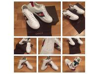 Gucci Unisex Men Women Trainers Sneakers Shoes Boys Girls Brand New Size 6 Available