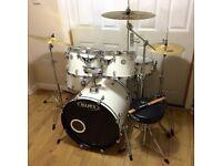 Refurbished Mapex Horizon Drum Kit with Brand New Meinl HCS Cymbal Set