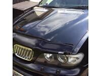 BMW X5 Brand New Bonnet Spoiler / Protector Dark Finish