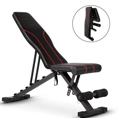 Adjustable Fitness Weight Bench For Full Body Training Home