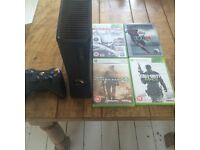 Xbox 350 model 1439 console and games