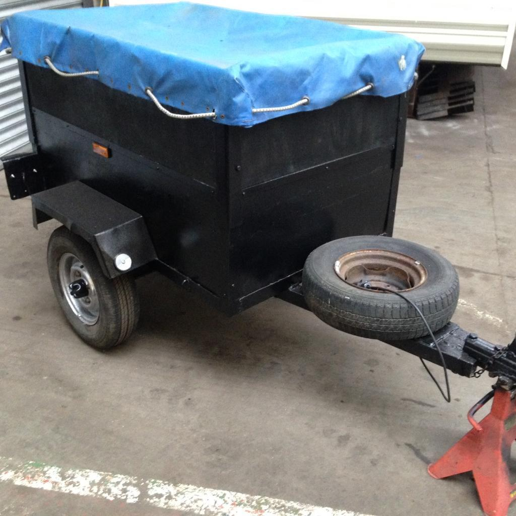 Small Car Camper Small Car Camping Trailer With Cover In Alnwick Northumberland