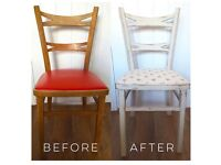 Vintage French Chair- Upcycled.