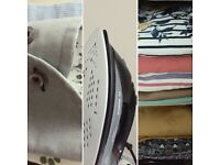 Offering a friendly professional ironing service. Hinckley, burbage, barwell and nuneaton