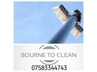 Window cleaning ( Bourne to clean )