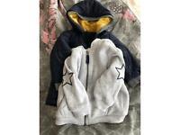 Baby boys jacket and hoodie