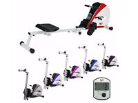 Premium Rowing Machine Body Tonner Home Rower Fitness Cardio Workout Weight Loss