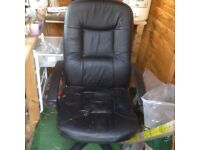 free leather swivel chair