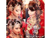 £299 Asian bridal henna, hair and makeup artist.